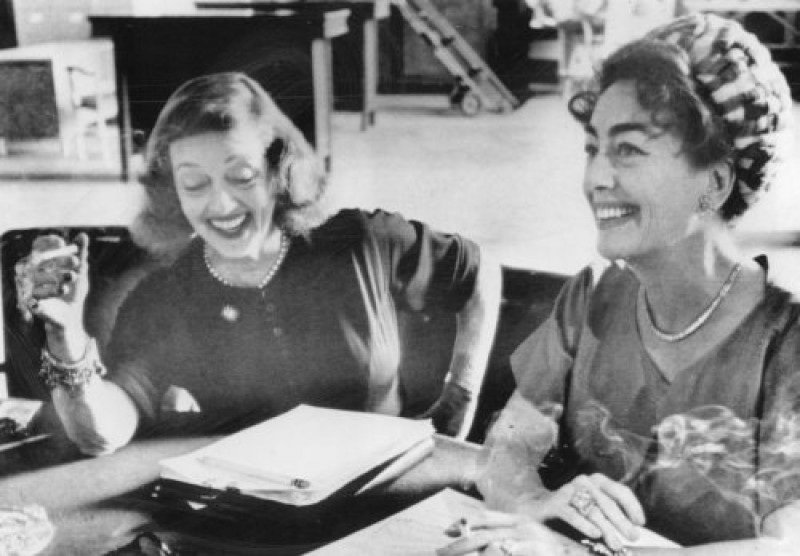 Bette Davis et Joan Crawford