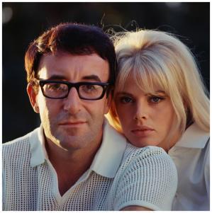 1964 1968 britt ekland and peter sellers photo douglas kirkland