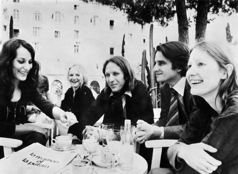 538456 bernadette lafont en 1973 au festival de cannes