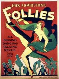 Fox movietone follies of 1929 filmposter