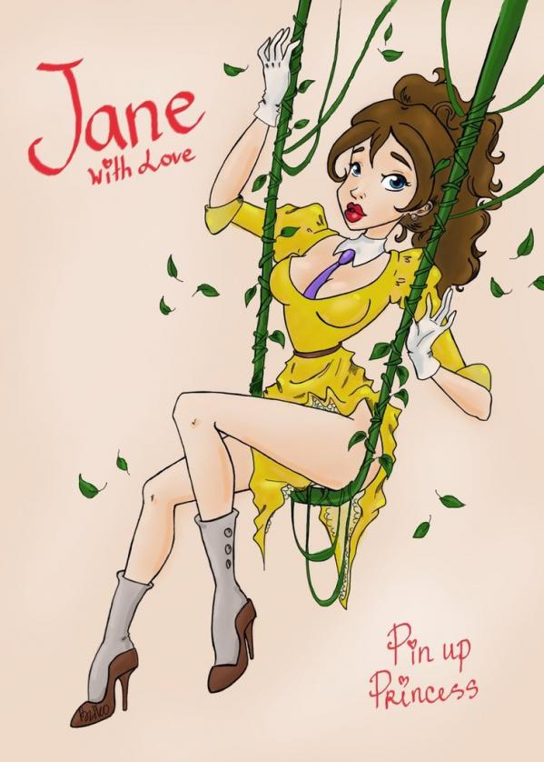 Jane pin up 6