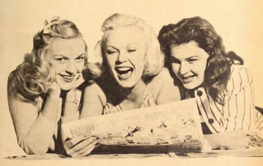 June haver and sisters